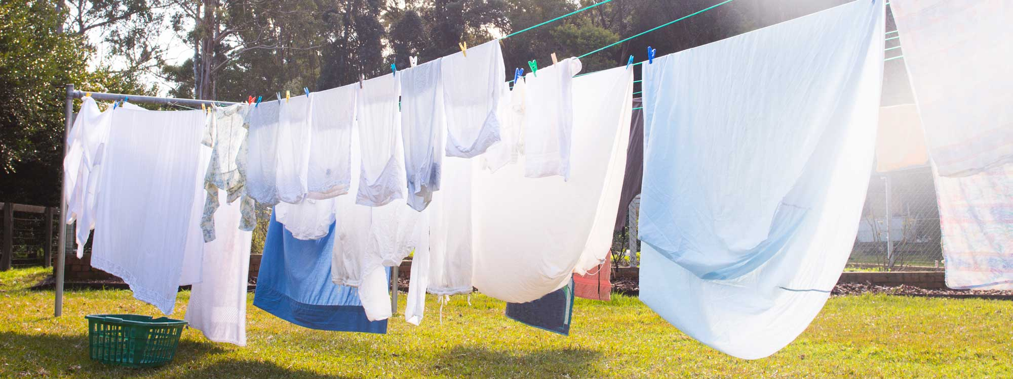 A lot of carbon emissions come from running the dryer. Save by hang drying!