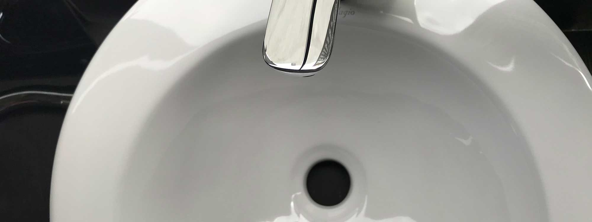 An average of 50 gallons of clean water are lost a week to leaks in faucets.